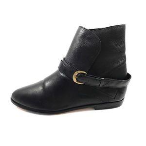VTG JENNIFER MOORE Adventure black leather boots